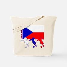 Czech Soccer Tote Bag