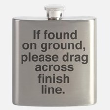 If found on ground, please drag across finis Flask