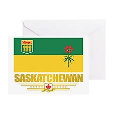 Saskatchewan Flag Greeting Card