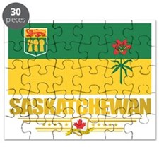 Saskatchewan Flag Puzzle
