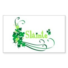 Sláinte Rectangle Decal