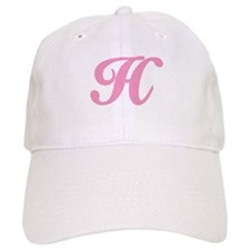 H Initial Baseball Cap