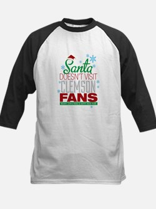 Santa Doesnt Visit Clemson Fans-01 Baseball Jersey