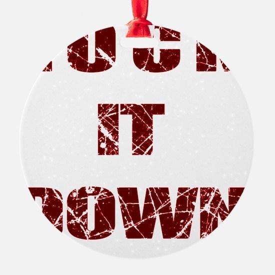Lock it Down Ornament