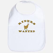 Llama Riders Wanted Bib