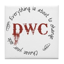 DWC Circle Tile Coaster