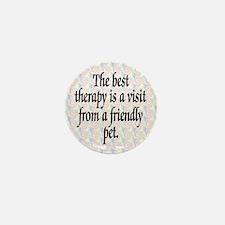 Therapy Pet Mini Button