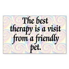 Therapy Pet Decal