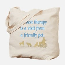 Therapy Pet Tote Bag