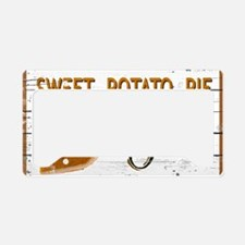 Sweet Potato Pie License Plate Holder
