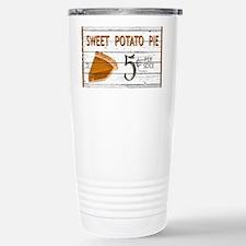 Sweet Potato Pie Stainless Steel Travel Mug