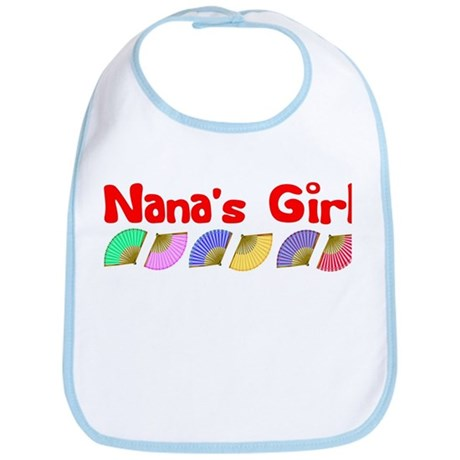 Nana's Girl (fans) Bib