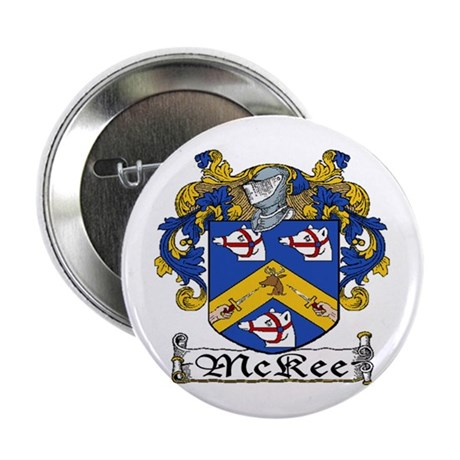 """McKee Coat of Arms 2.25"""" Button (10 pack)"""
