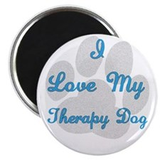 Therapy Dog Magnet
