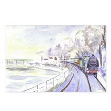 Tyne Valley Line xmas car Postcards (Package of 8)