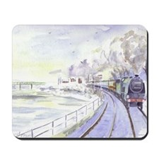 Tyne Valley Line xmas card Mousepad