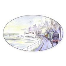 Tyne Valley Line xmas card Decal