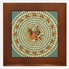 White Rabbit Vintage Framed Tile