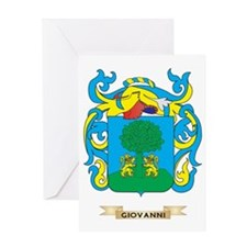 Giovanni Coat of Arms Greeting Card