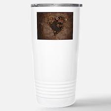 Steampunk Heart Travel Mug