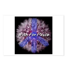 Wish For Peace Dandelion Postcards (Package of 8)