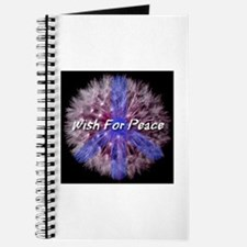 Wish For Peace Dandelion Journal