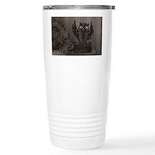 Steampunk Owl Travel Mug