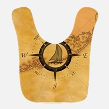 Key West Compass Rose Bib