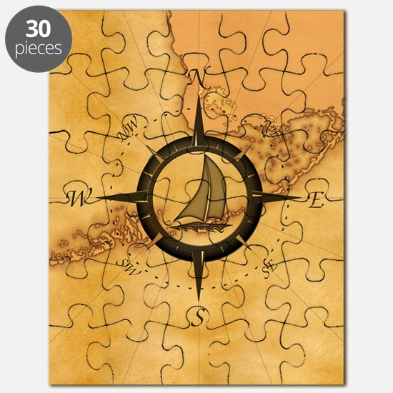 Key West Compass Rose Puzzle