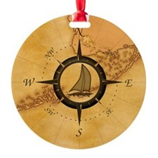 Key West Compass Rose Ornament