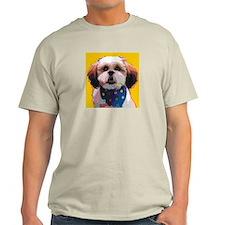 Shih Tzu in Polkadots T-Shirt