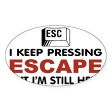 Escape Key Decal