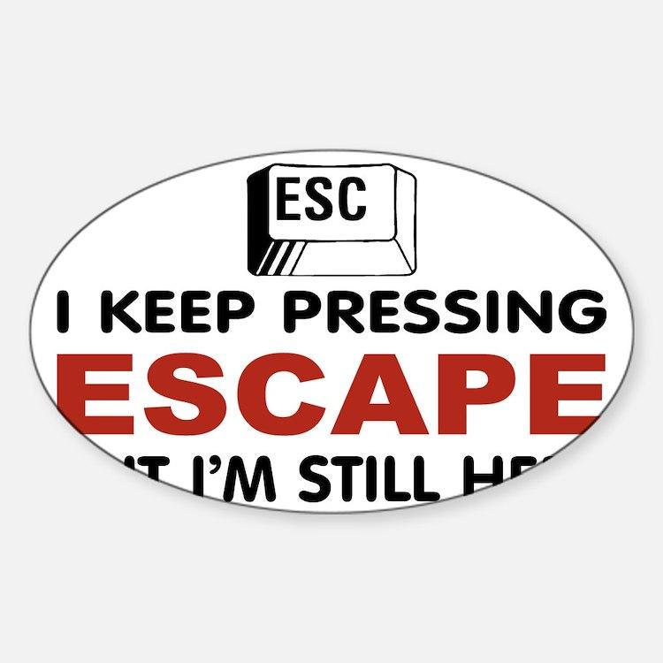 Escape Key Decal