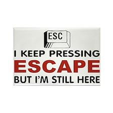 Escape Key Rectangle Magnet