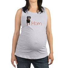 Cute Rottweilers Maternity Tank Top