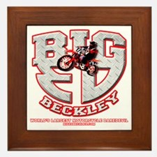 BIGED emblem Framed Tile