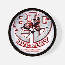 BIGED emblem Wall Clock