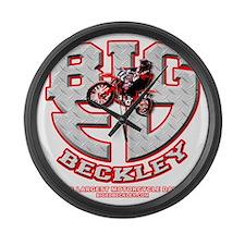 BIGED emblem Large Wall Clock