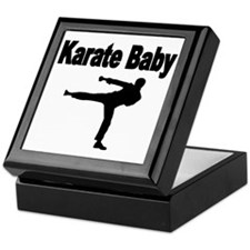 Karate Baby Keepsake Box