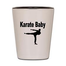 Karate Baby Shot Glass