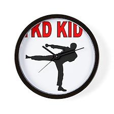 TKD BABY Wall Clock