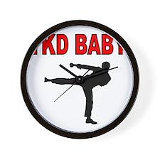 TKD BABY 2 Wall Clock