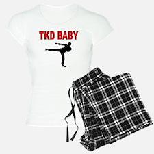 TKD BABY 2 pajamas