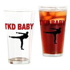 TKD BABY 2 Drinking Glass
