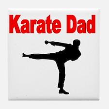 KARATE DAD 3 Tile Coaster