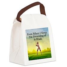 softballdreams1 Canvas Lunch Bag