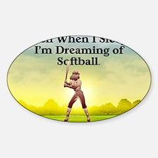 softballdreams1 Decal