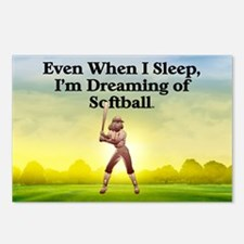 softballdreams1 Postcards (Package of 8)