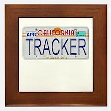 California Tracker Framed Tile