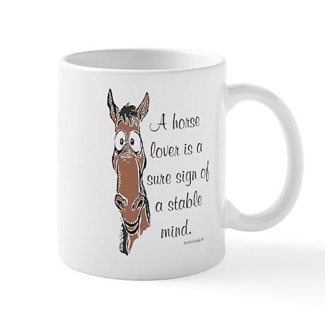Bay Horse Lover Mugs